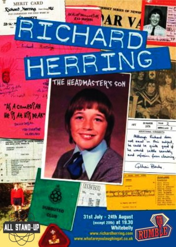 Richard Herring - The Headmaster's Son_Rumble