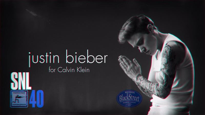 SNL Calvin Klein Ad Black Street Records