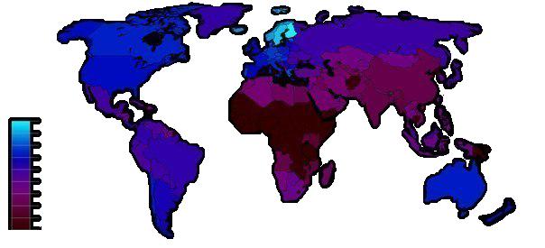 Количество метал-групп на 100 000 тысяч жителей