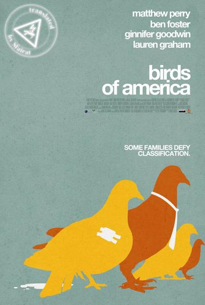 Птицы Америки. Дмитрий sf@irat Штамп